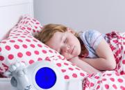 Sleeptrainer Sam gives children and parents 45 minutes more sleep.