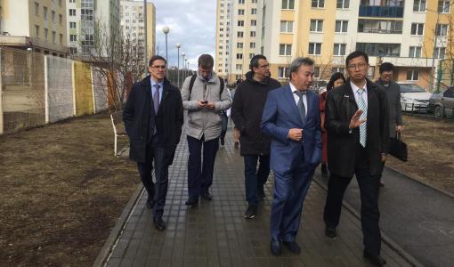 «Умные» технологии КОРТРОС презентовали китайской делегации