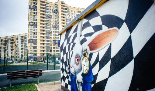 В жилых кварталах «Новое Пушкино» и «Новое Медведково» появились новые арт-объекты