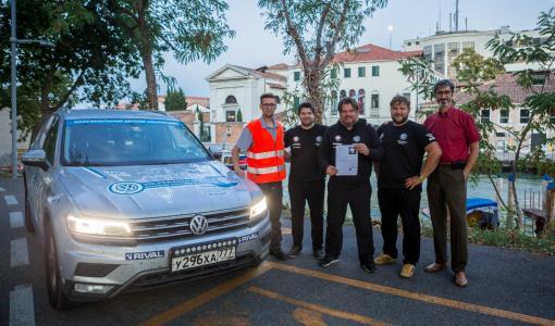 Российский Volkwagen Tiguan при поддержке Continental покорил «Великий Шелковый путь»