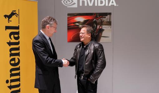 Continental и NVIDIA заключают партнерское соглашение для организации международного производства беспилотных автомобилей с искусственным интеллектом