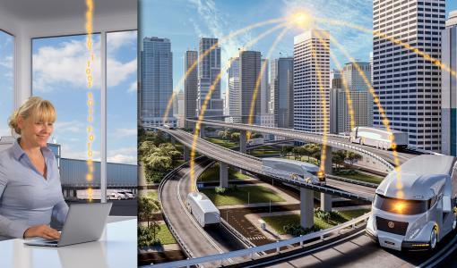 Компания Continental представила систему ContiConnect™ Live на выставке IAA Commercial Vehicles