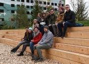 Слушатели архитектурной школы МАРШ постели ЖК «Кварталы 21/19»