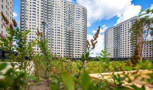 В двух очередях ЖК «Кварталы 21/19» реализовано 90% квартир