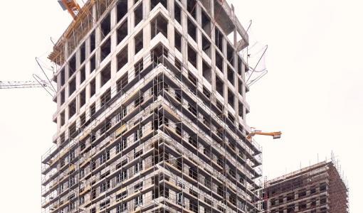 «ИНТЕКО»: в первой очереди West Garden завершено возведение монолитных конструкций корпусов