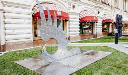 Выставка паблик-арта «Красный сад» продлена на две недели
