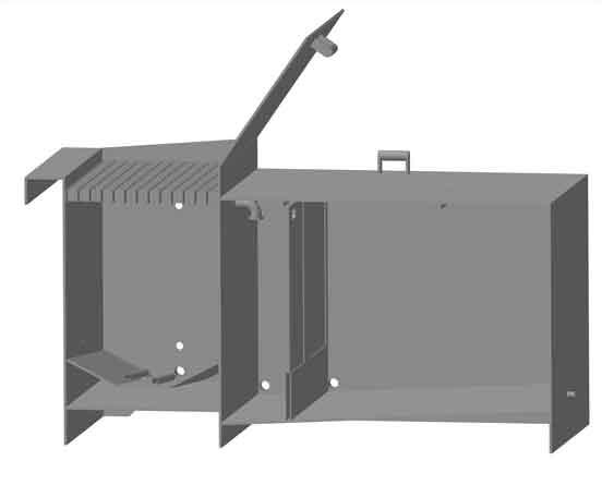 Строение солерастворителя